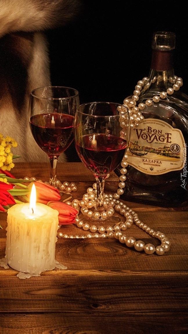 Zestaw na romantyczny wieczór
