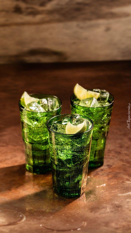Zielone drinki