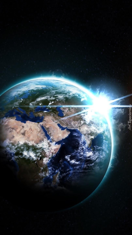 Ziemia w bezkresnym kosmosie