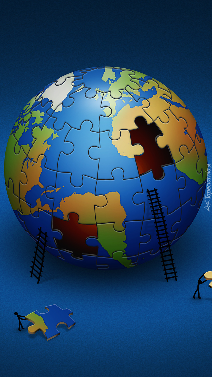 Ziemia z puzzli