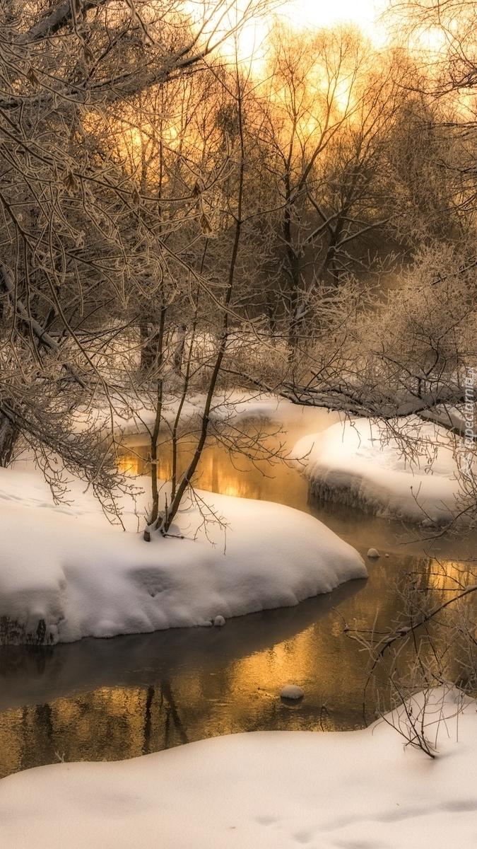 Zima nad rzeką Churilikha