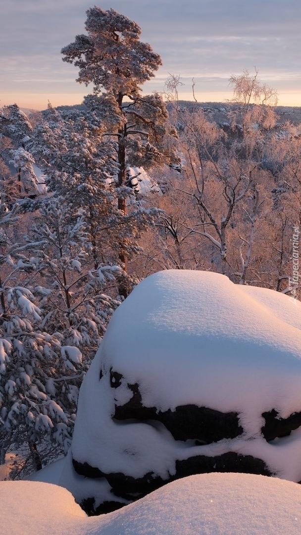 Zima w Górach Połabskich