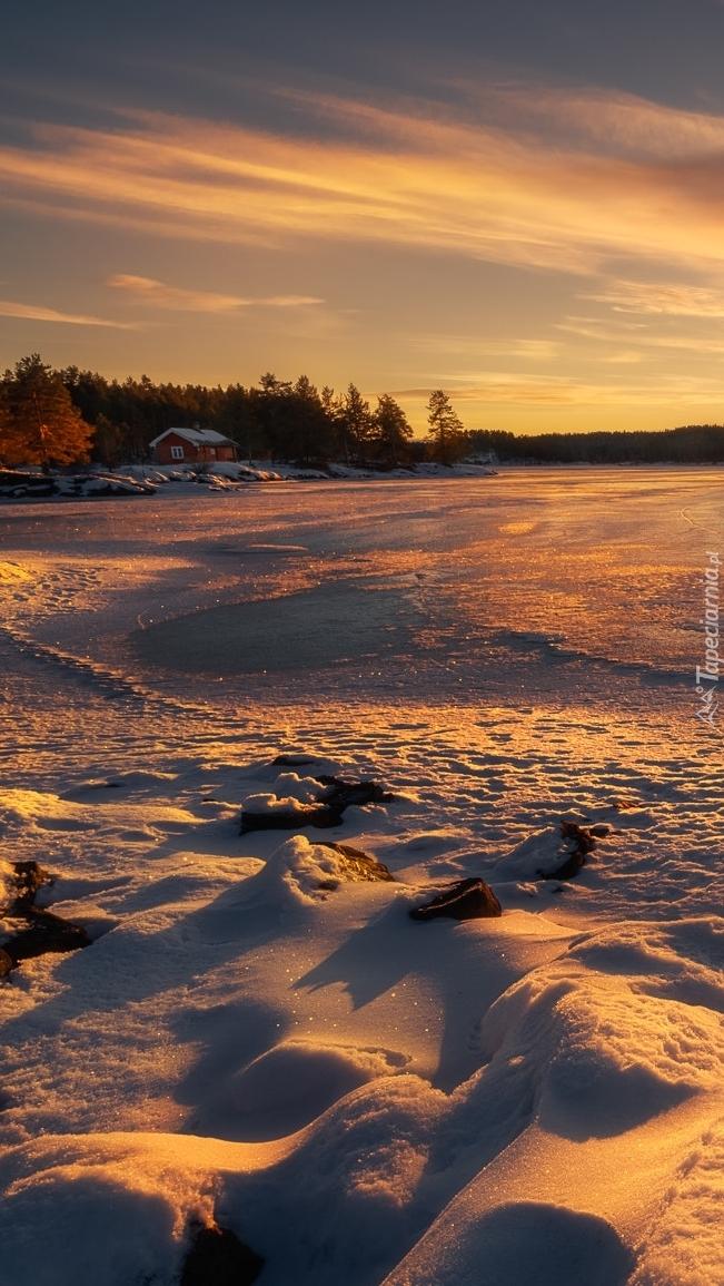 Zima w Norwegii