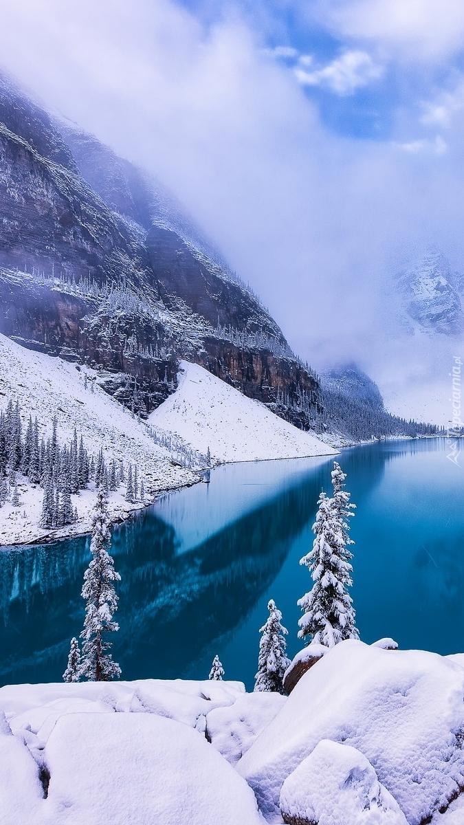 Zima w Parku Narodowym Banff