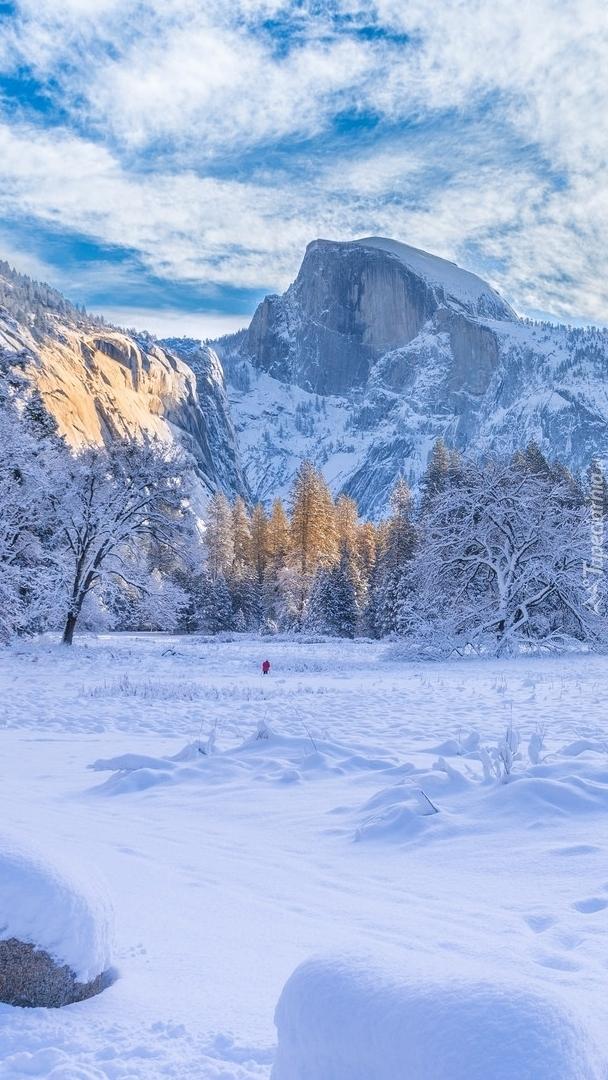Zima w Parku Narodowym Yosemite