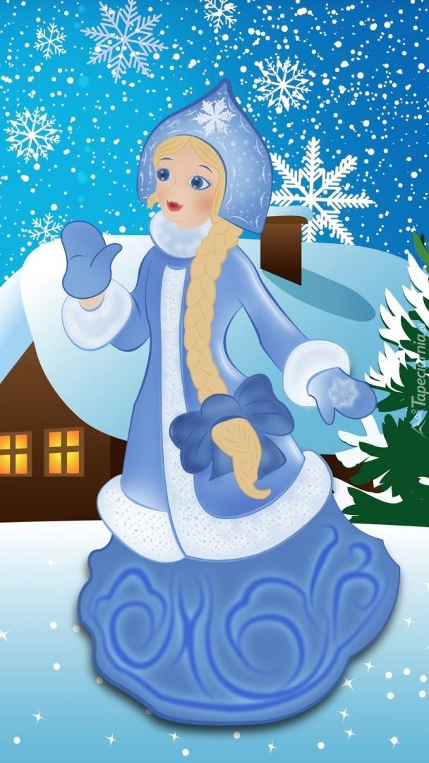 Zimowa dziewczyna