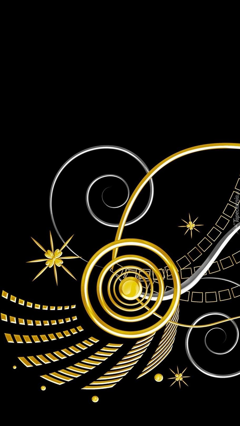 Złote wzory w abstrakcji
