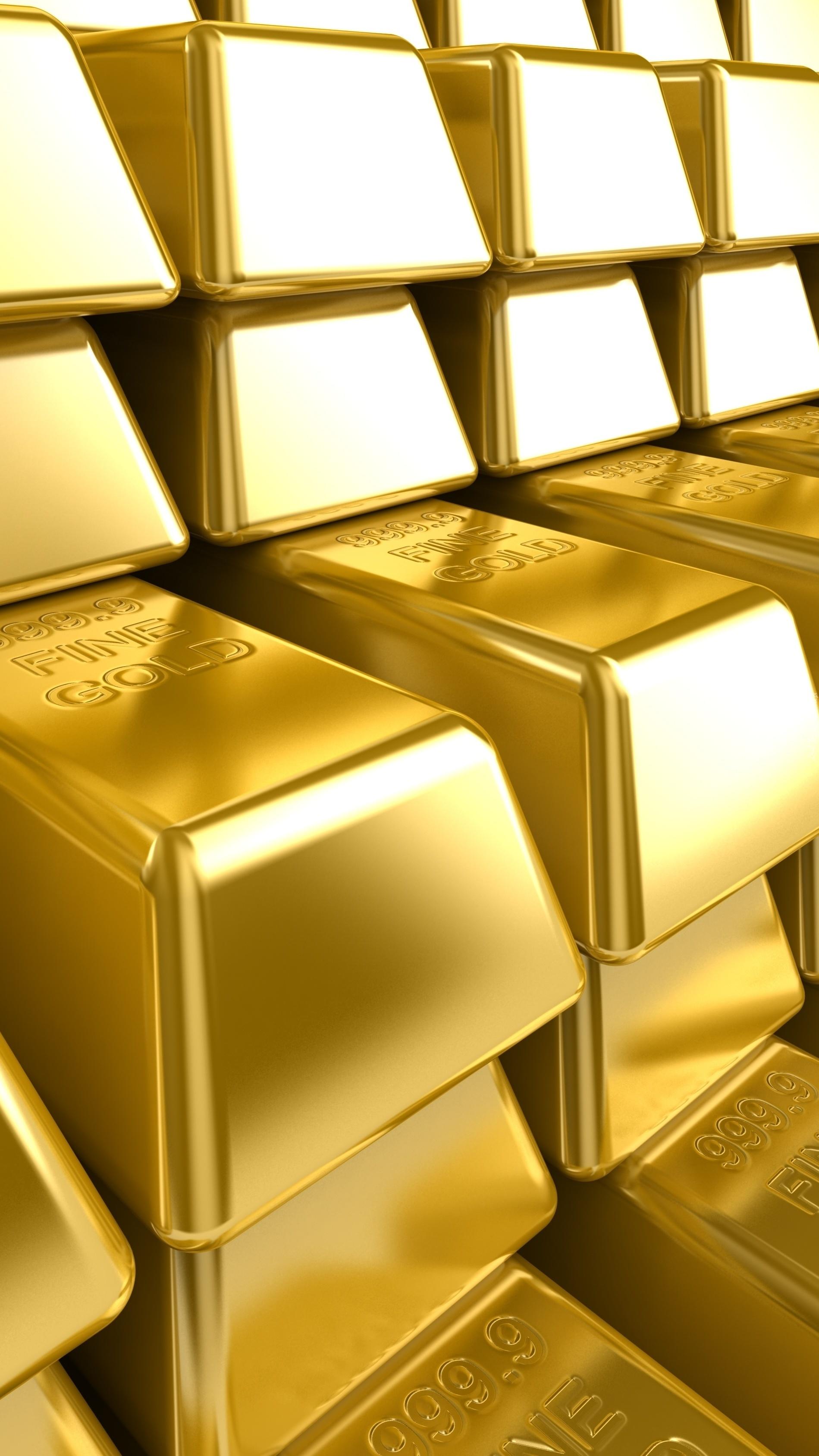 Złoto w sztabkach