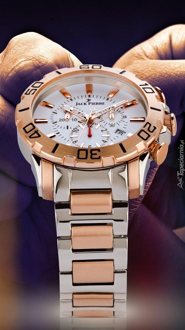 Złoty zegarek Jack Pierre