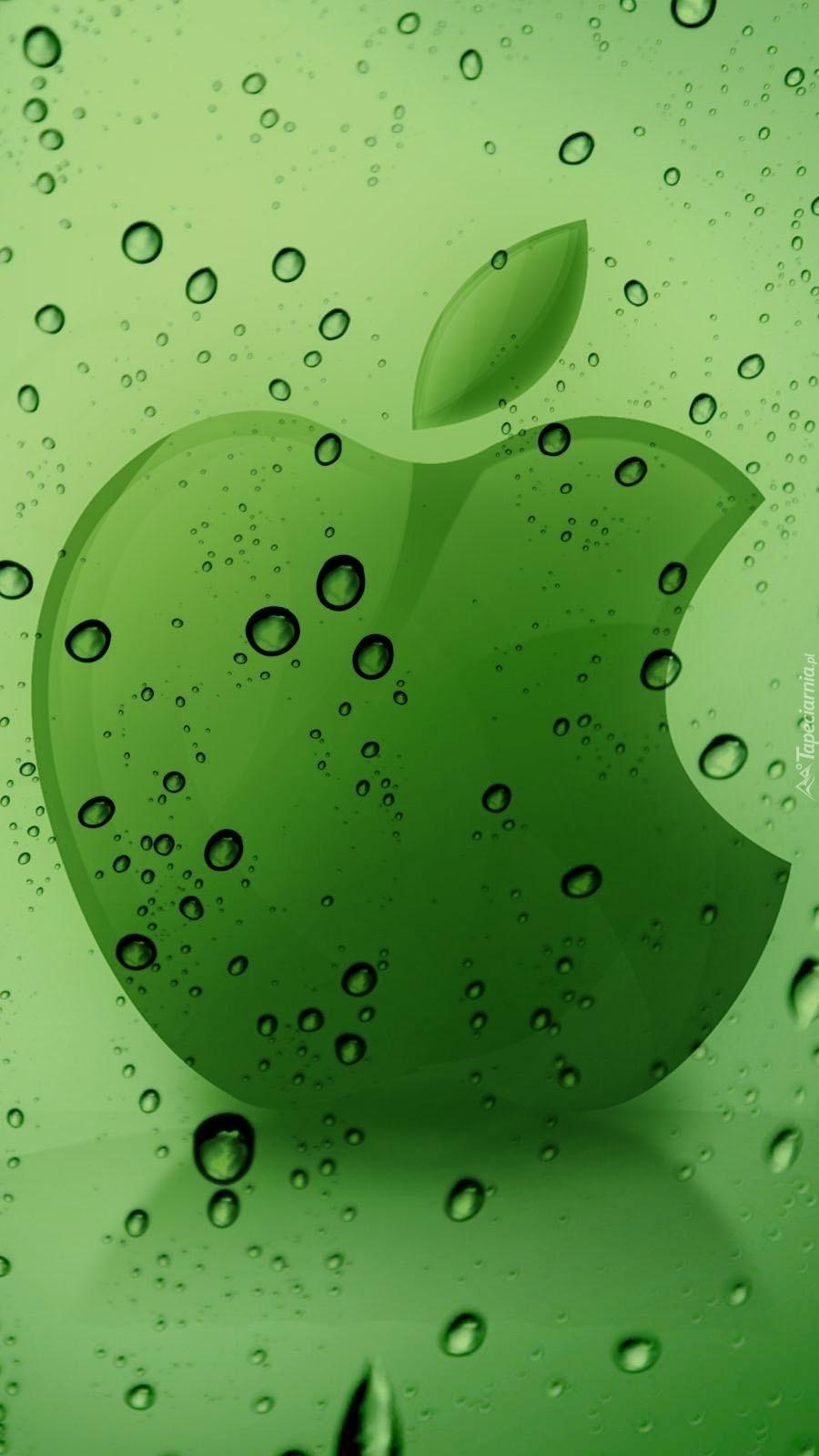 Zmoknięte Apple