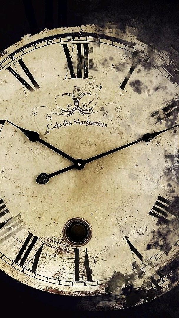 Zniszczony zegar