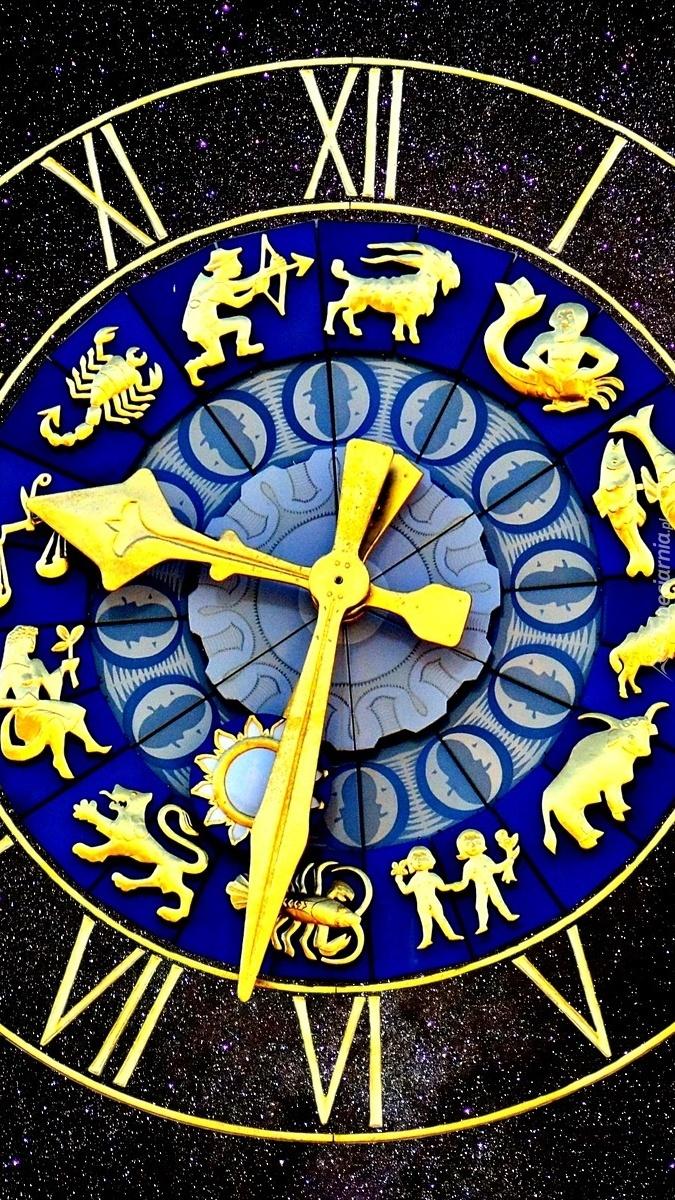 Zodiakalny zegar
