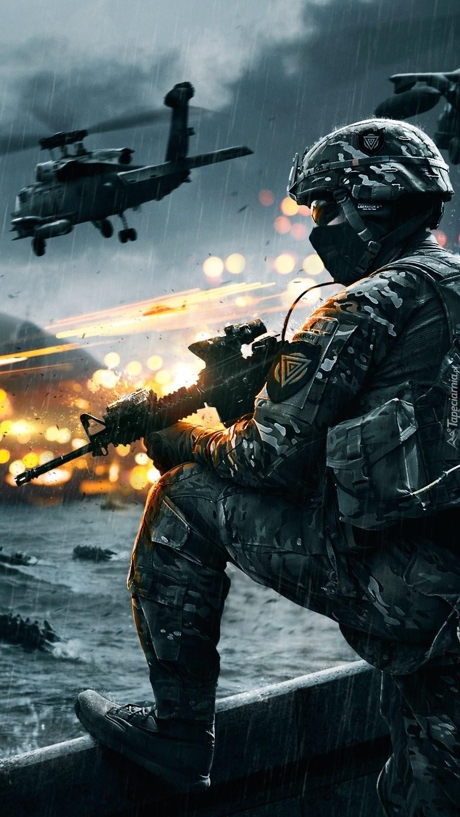 Żołnierz w akcji