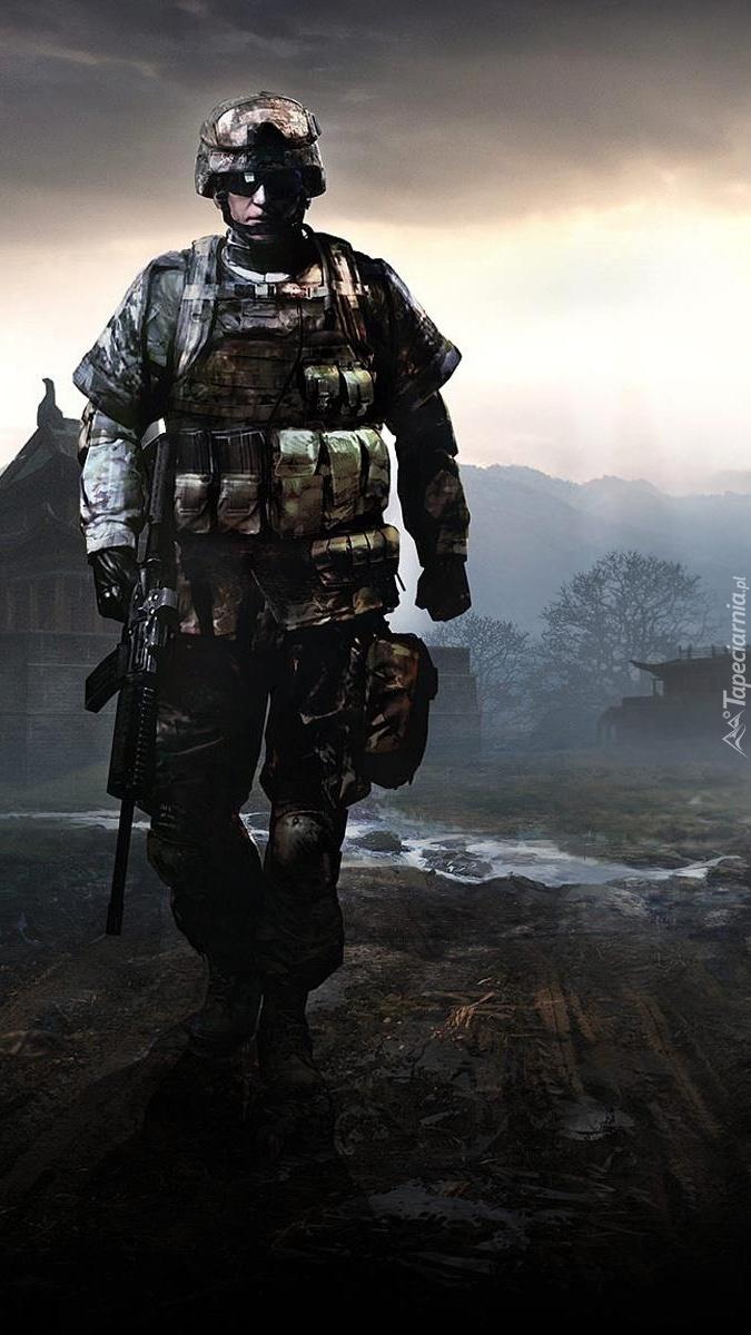 Żołnierz w Battlefield 4