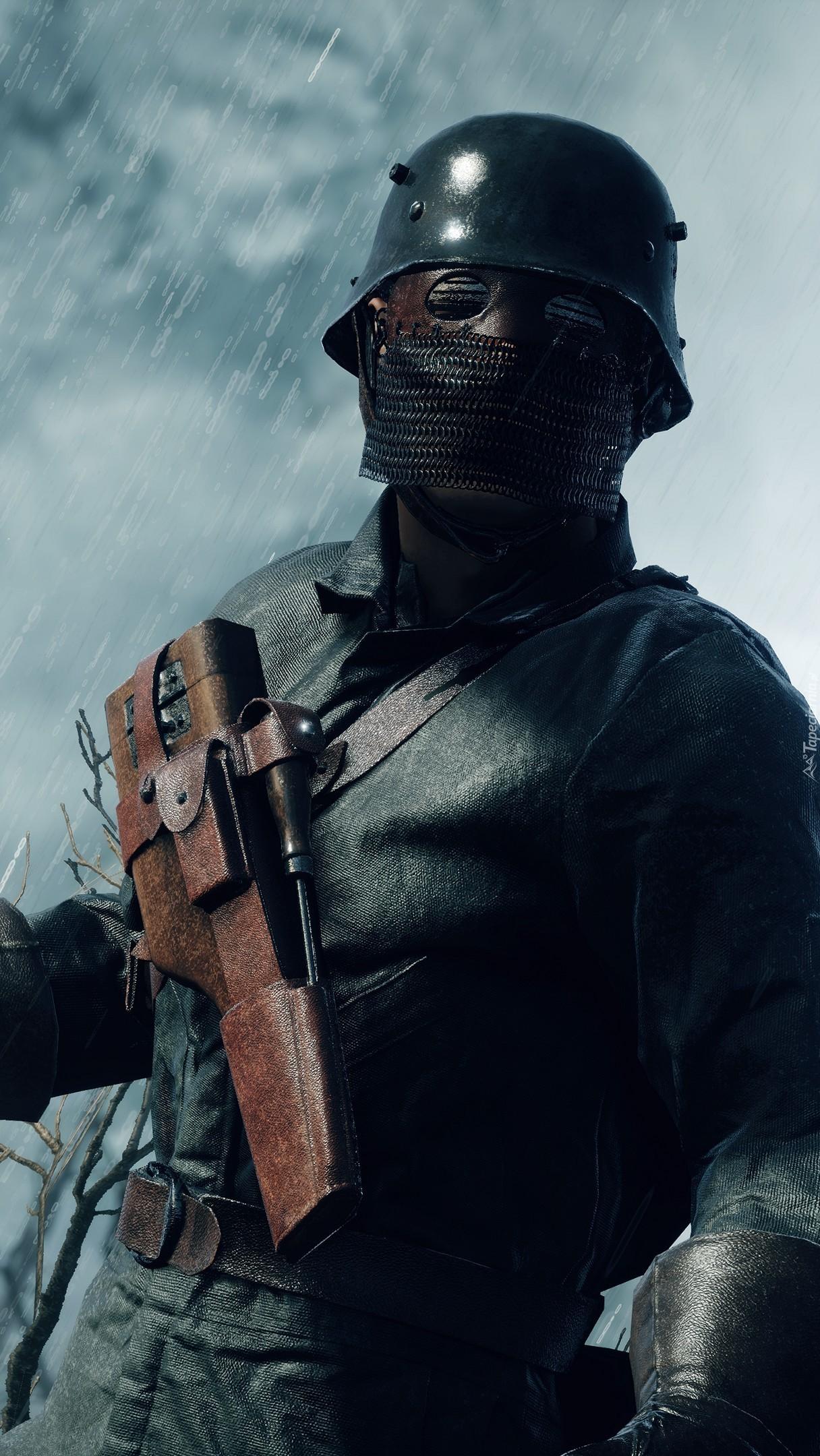 Żołnierz w grze wideo Battlefield 1