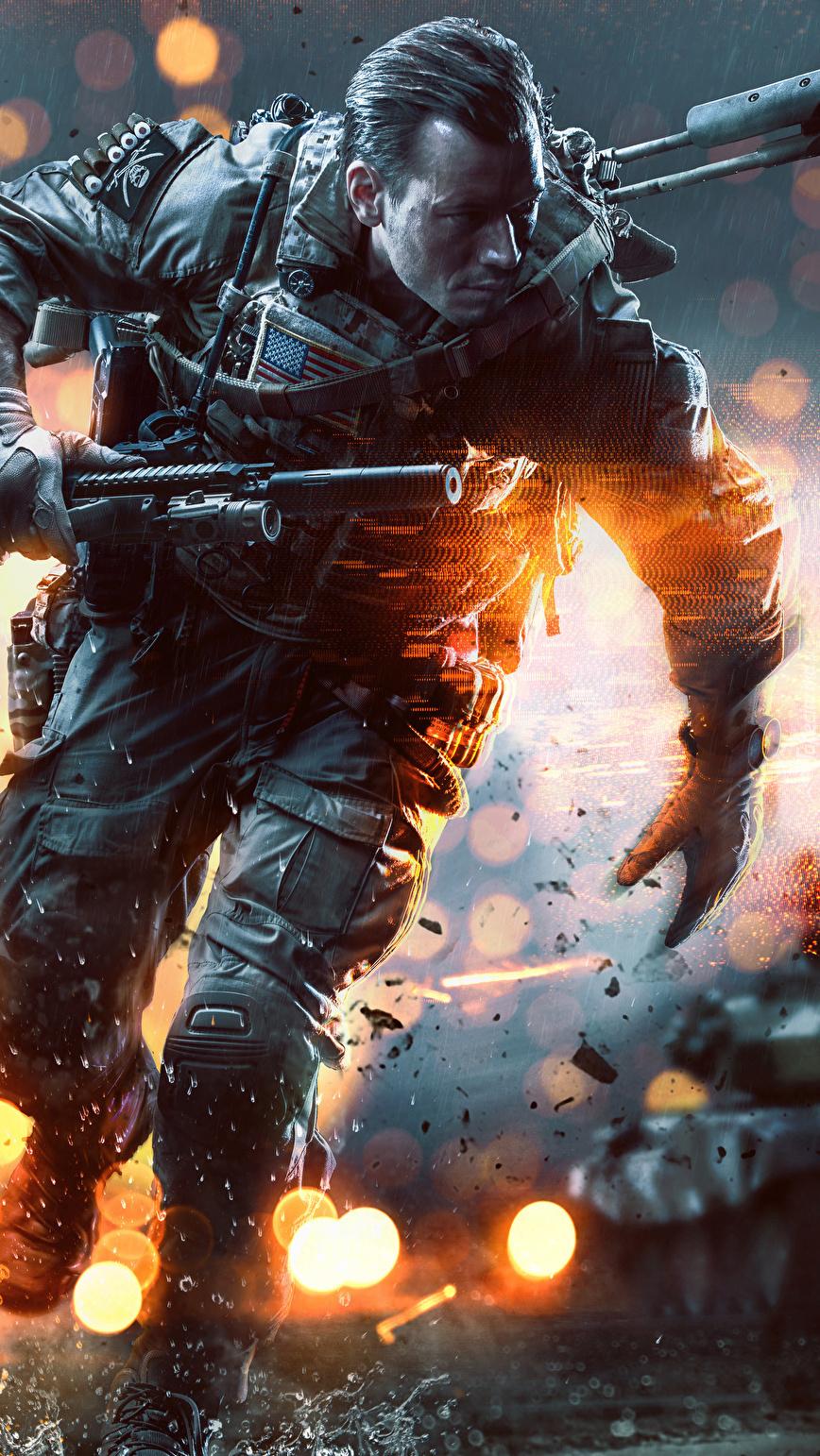 Żołnierz z Battlefield 4