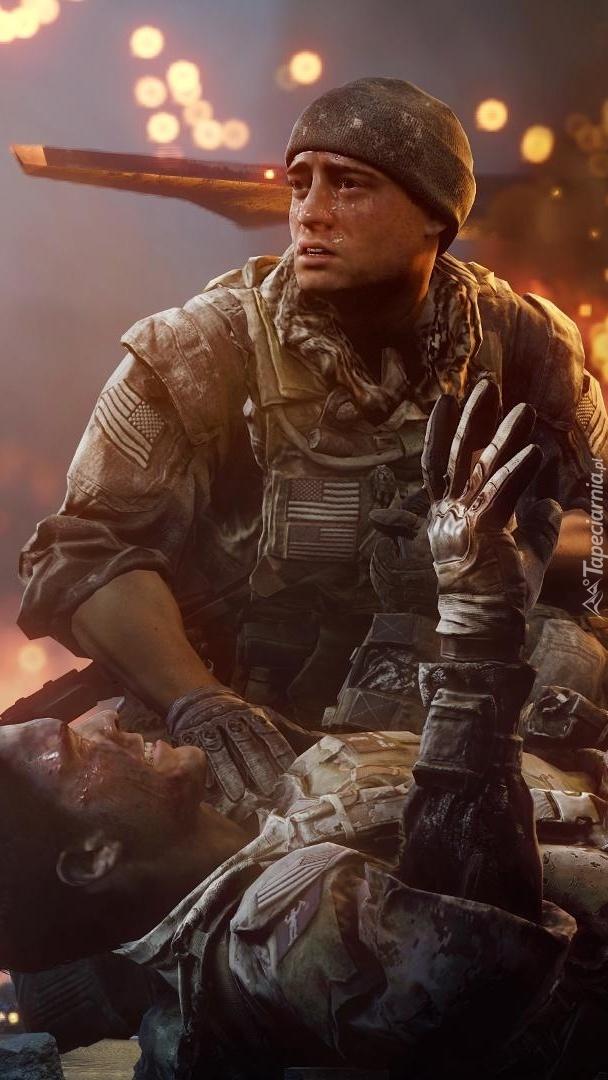 Żołnierze w grze Battlefield 4