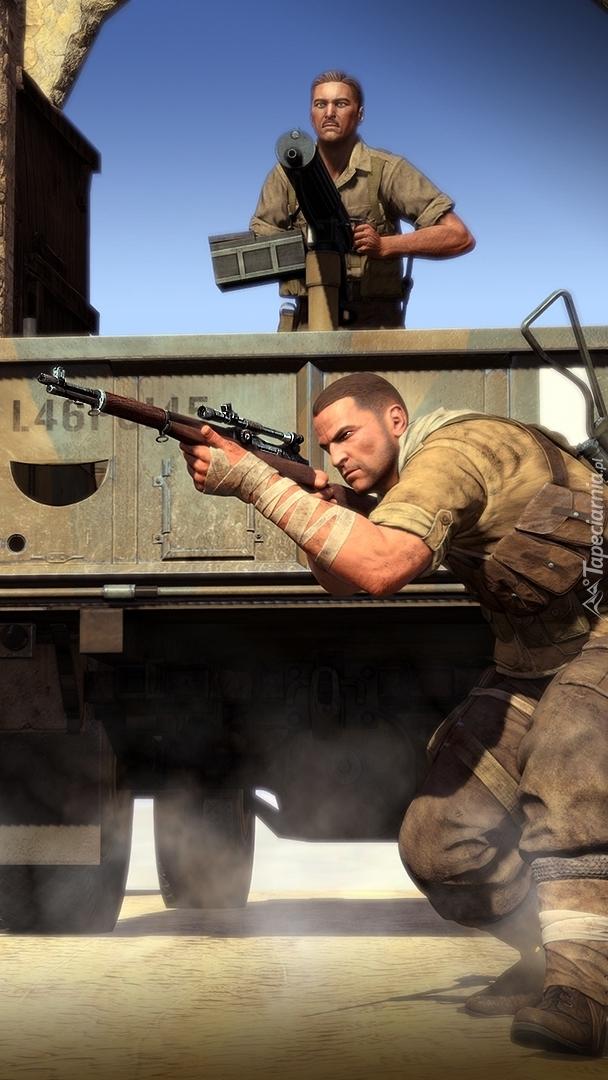 Żołnierze w grze Sniper Elite 3: Afrika