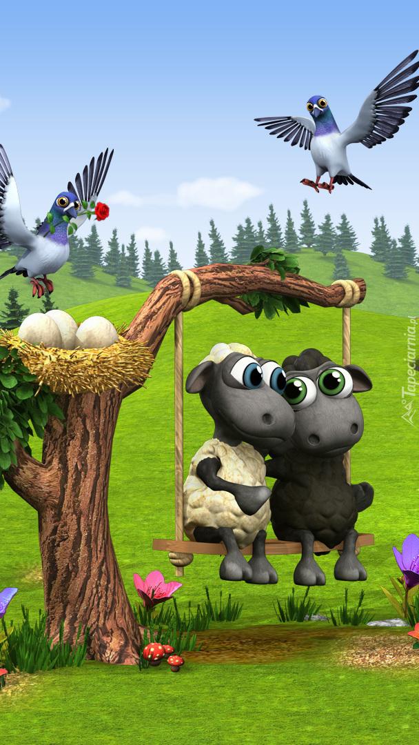 Zwierzaki z gry Farmerama