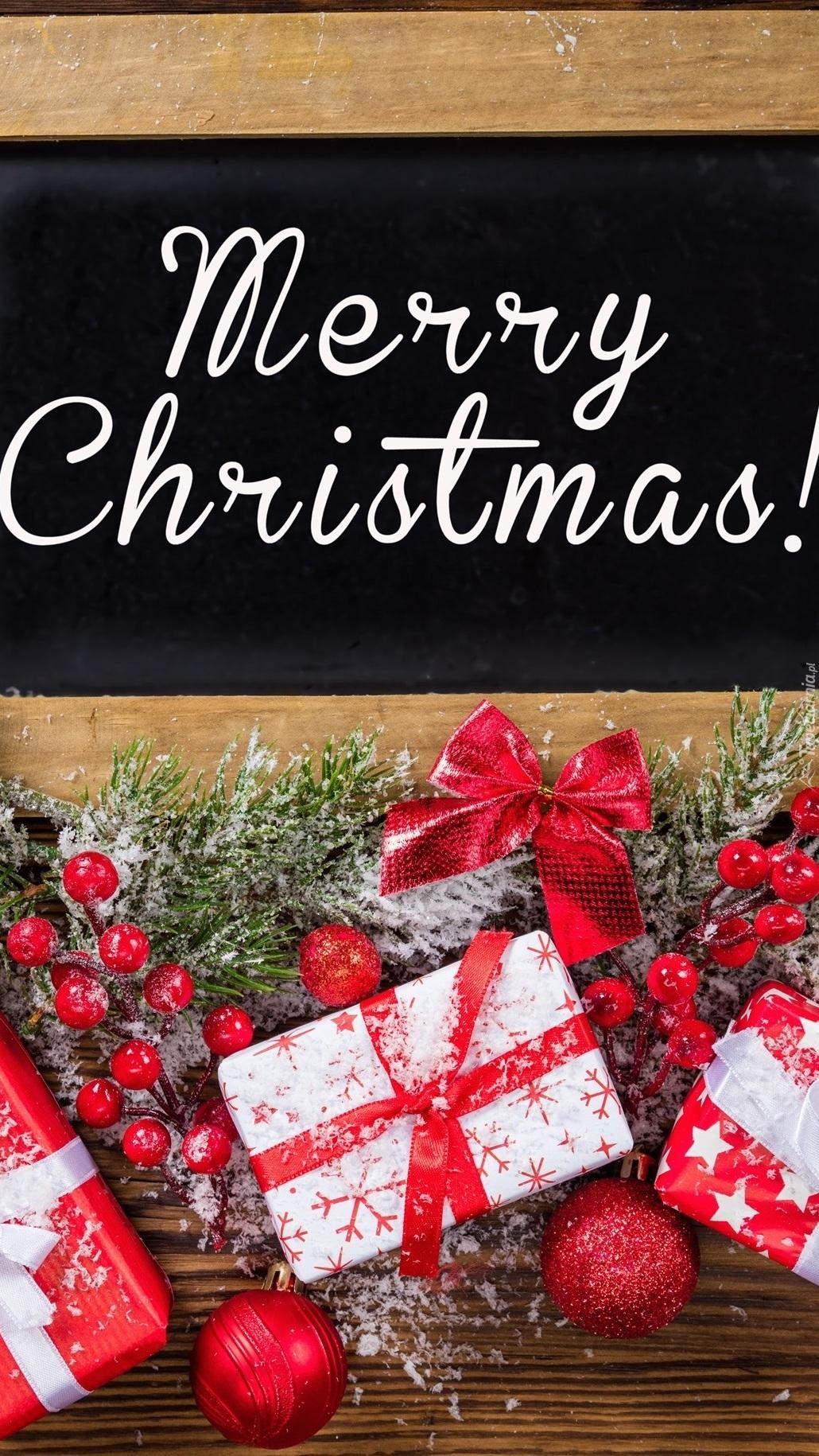 Życzenia na Boże Narodzenie z ozdobami