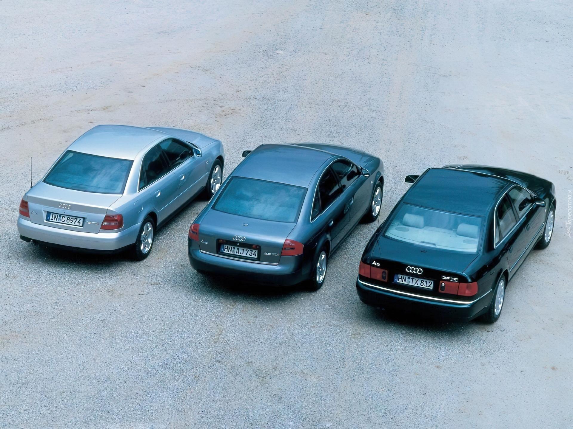Audi A4 B5 Audi A6 C5 Audi A8 D2