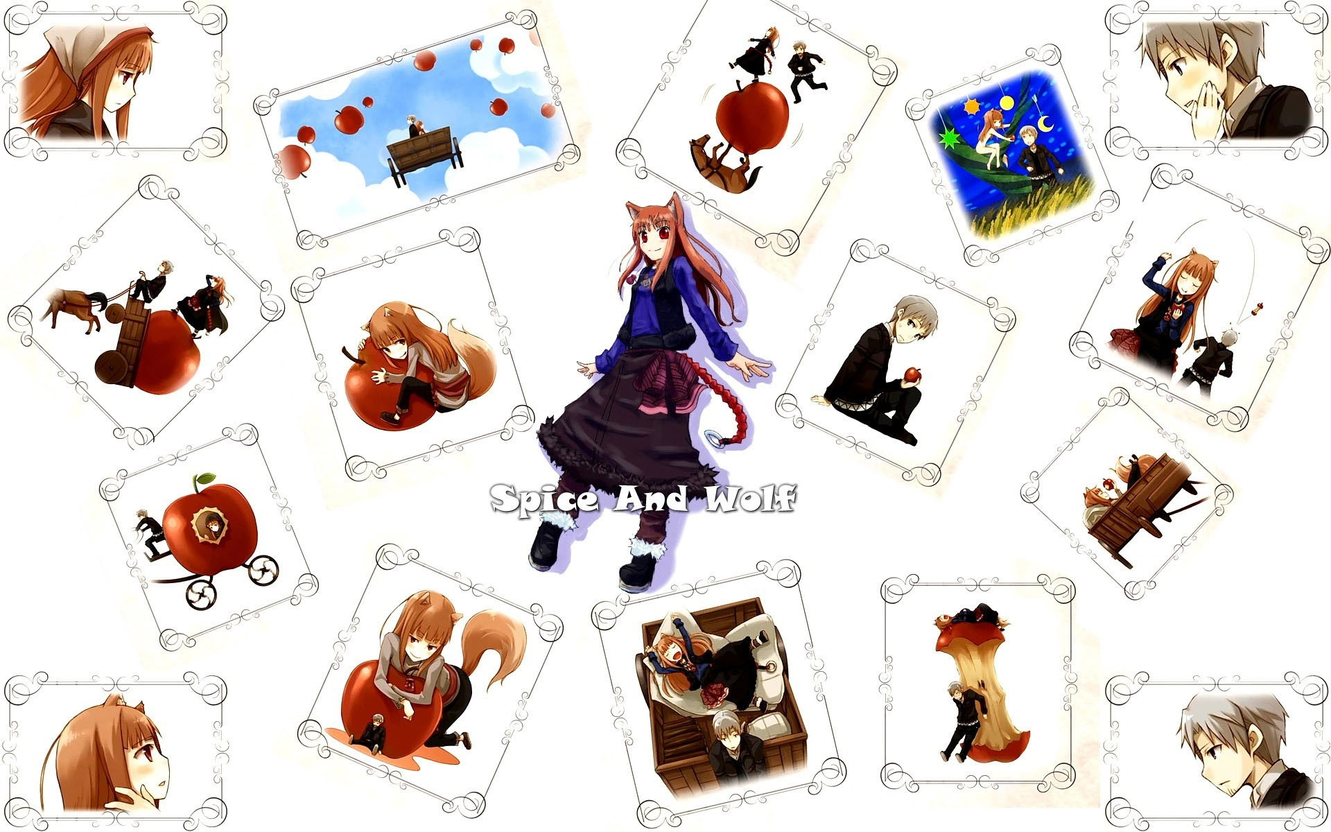 Spice and Wolf, Obrazki