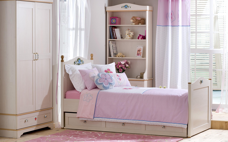 Przytulny Pokój Sypialnia Dziewczynki
