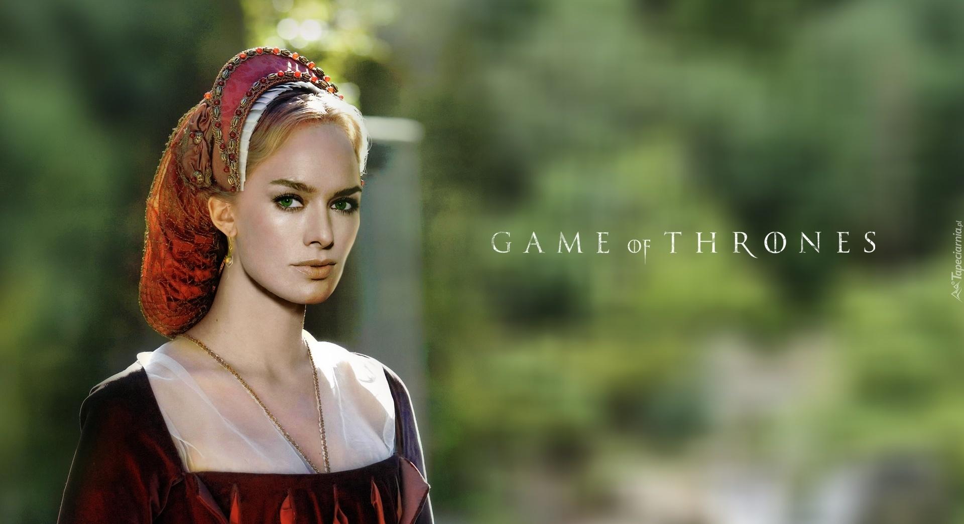 gra o tron, game of thrones, królowa, cersei lannister - lena headey