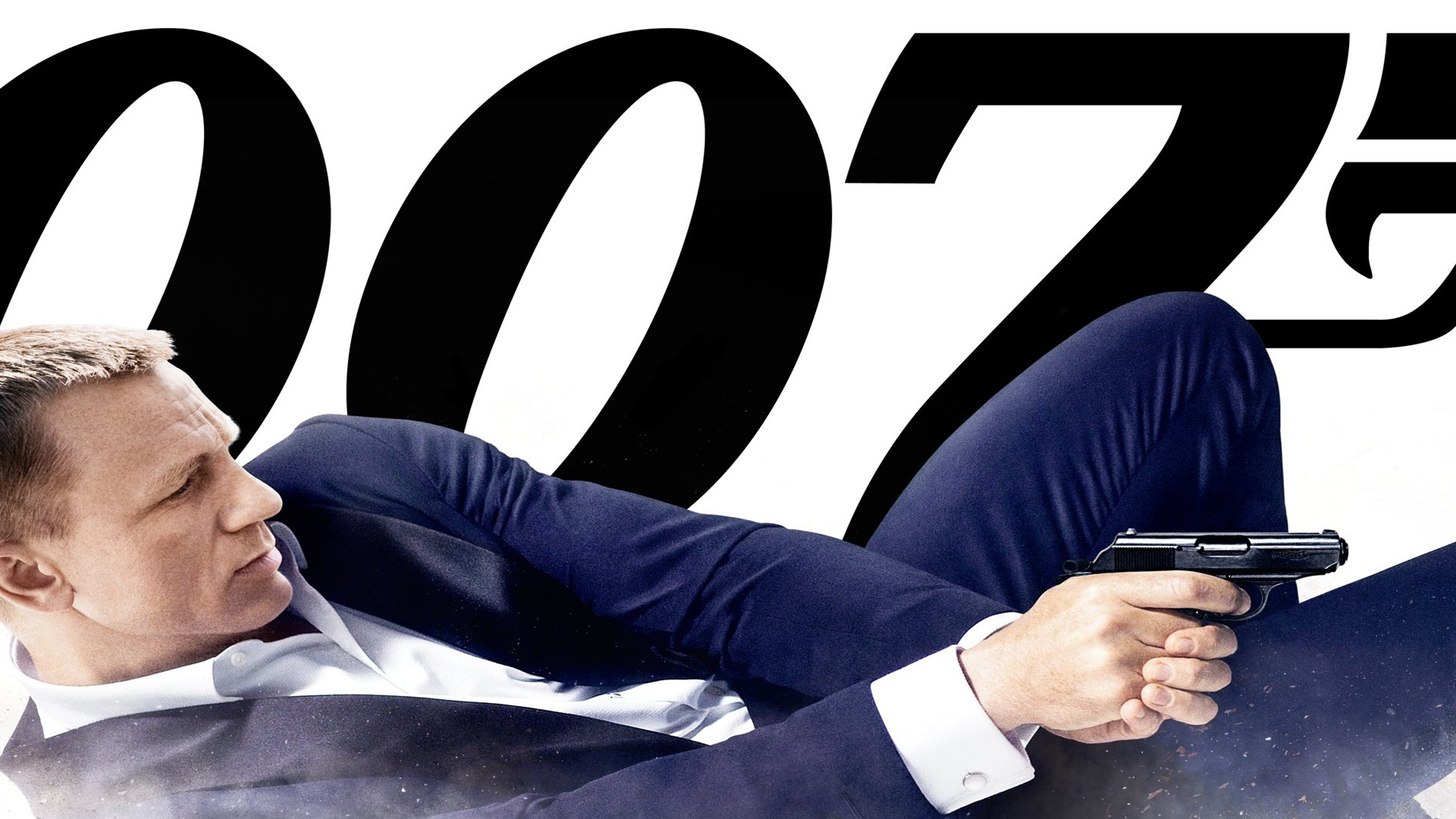 Daniel Craig, Pistolet, James Bond, Agent 007