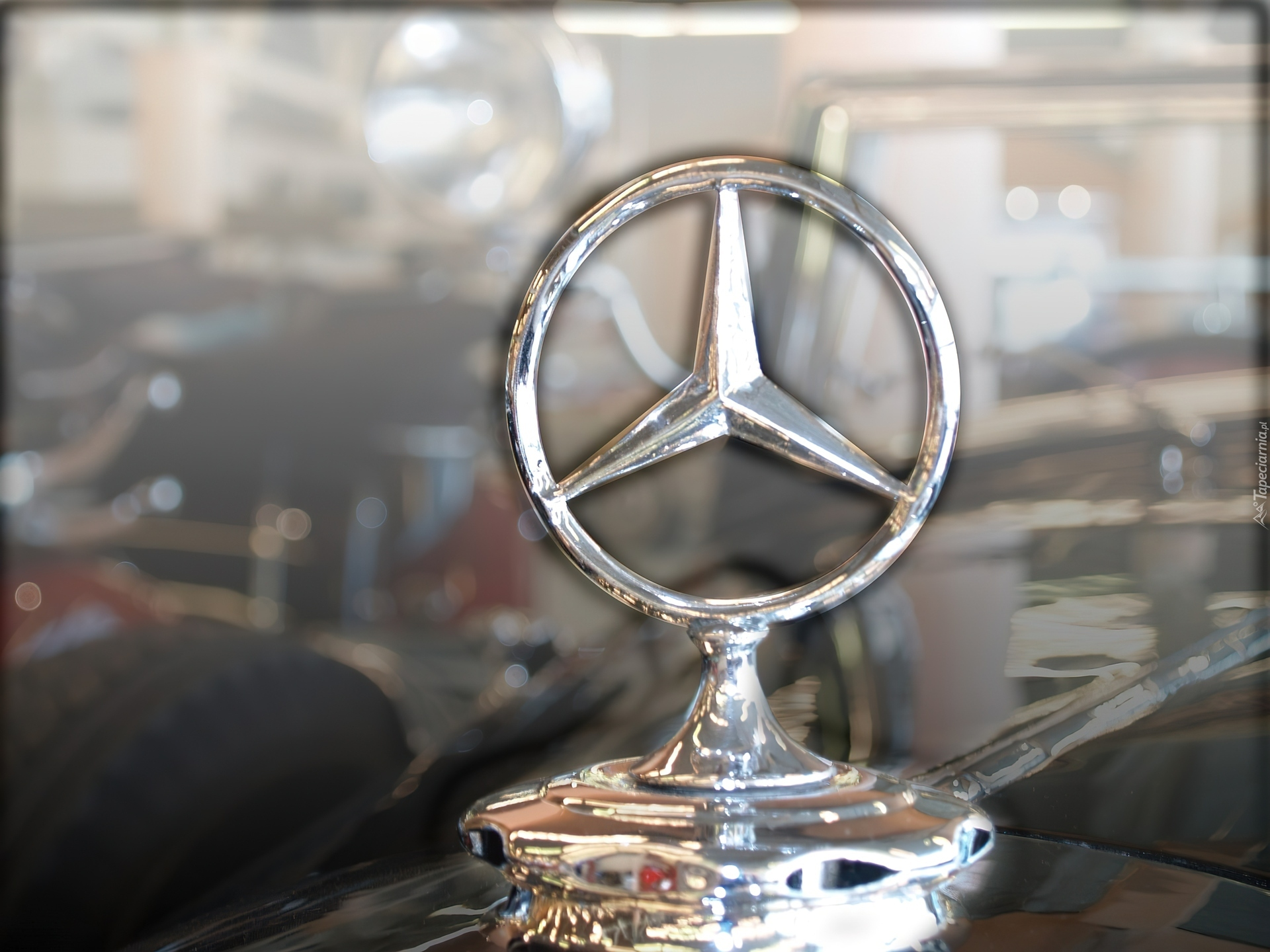 Znaczek Mercedes
