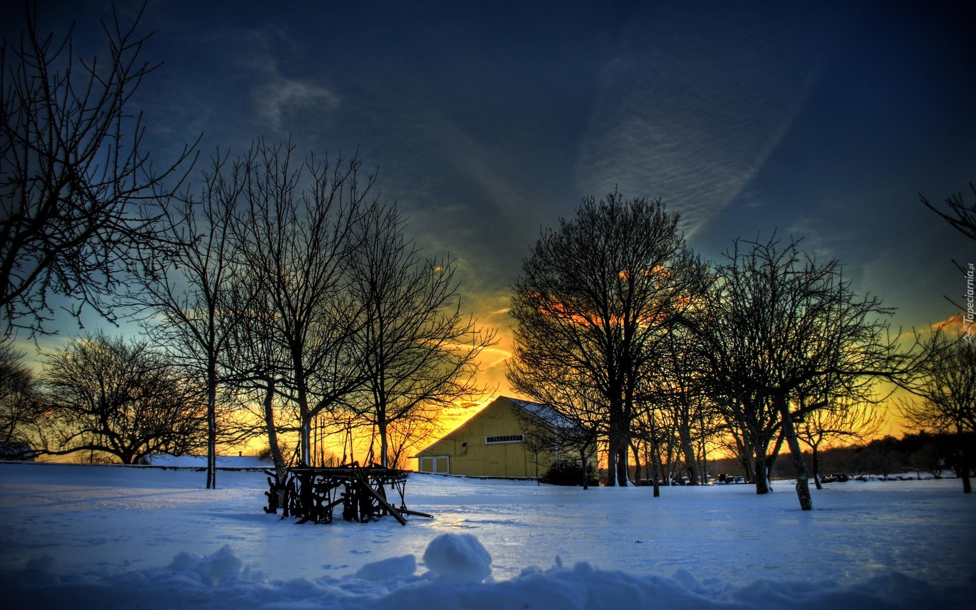 этом картинка зимний вечер на телефон для