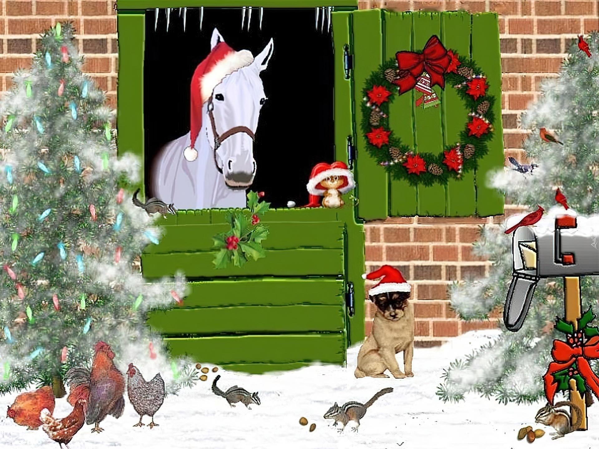 Картинки, картинки для детей новый год у ворот