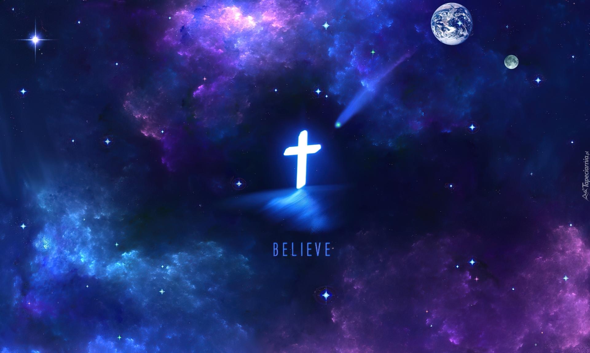 Niebo, Krzyż, Gwiazdy