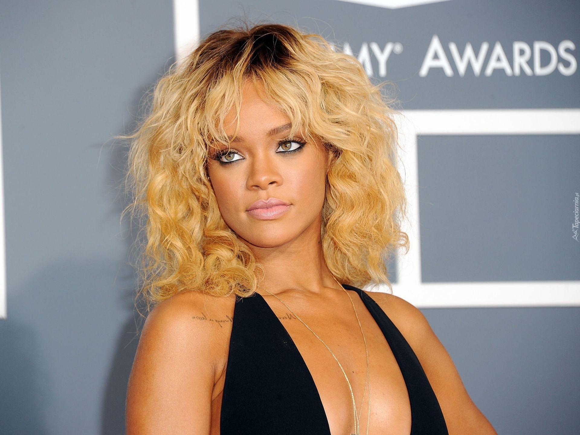 Rihanna Piosenkarka Tatuaż