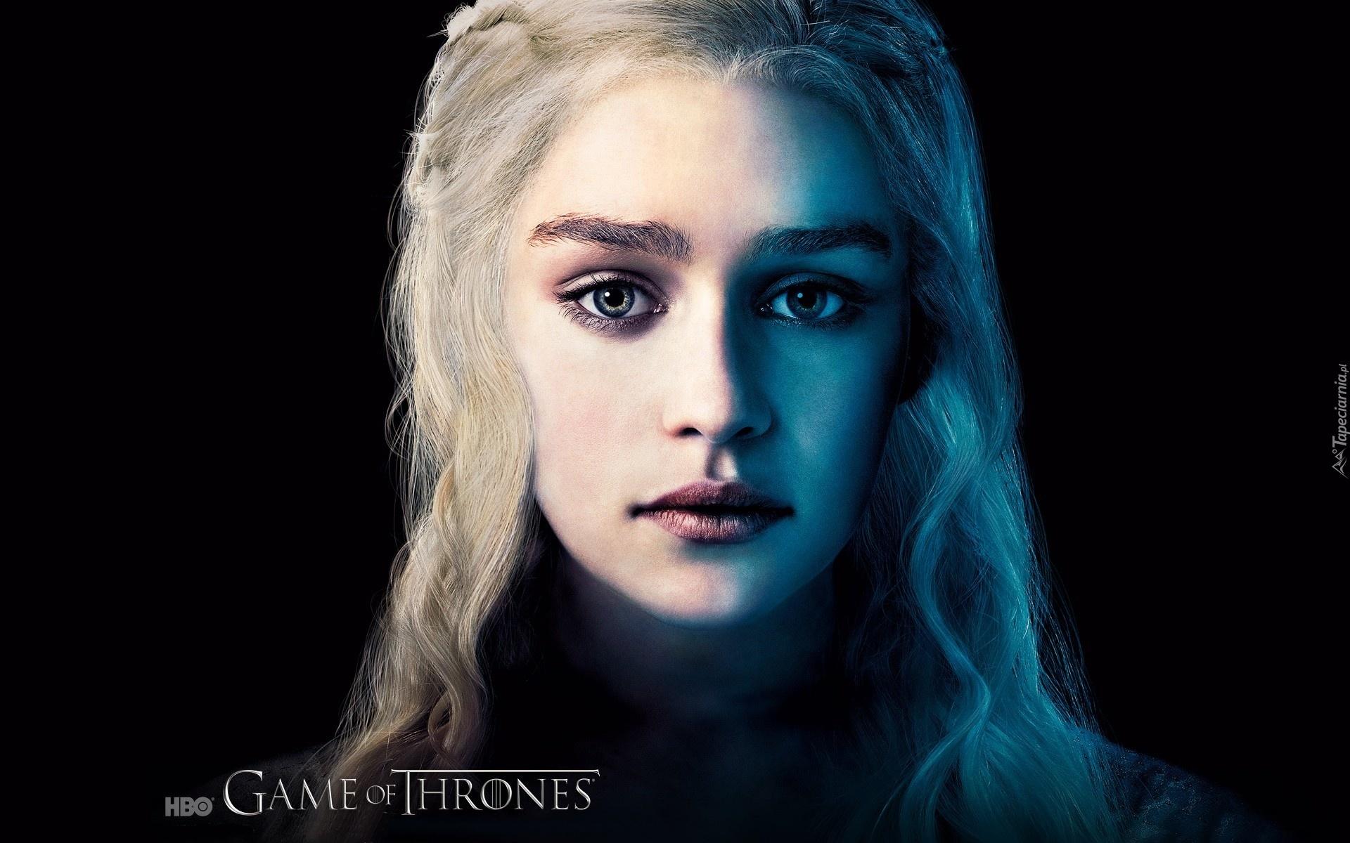gra o tron, game of thrones, daenerys - emilia clarke