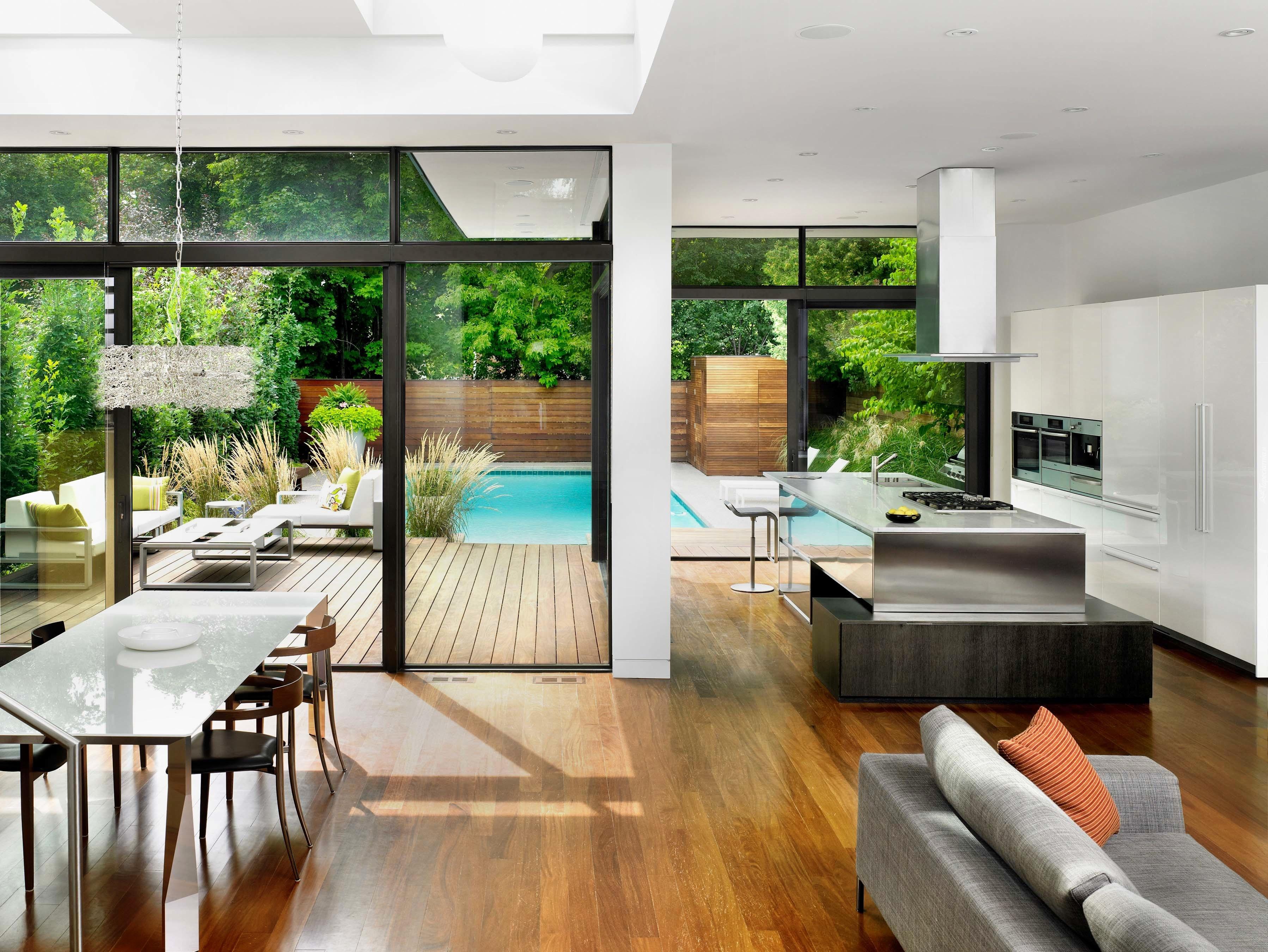 Dom nowoczesne wn trze - Spa tres casas ...