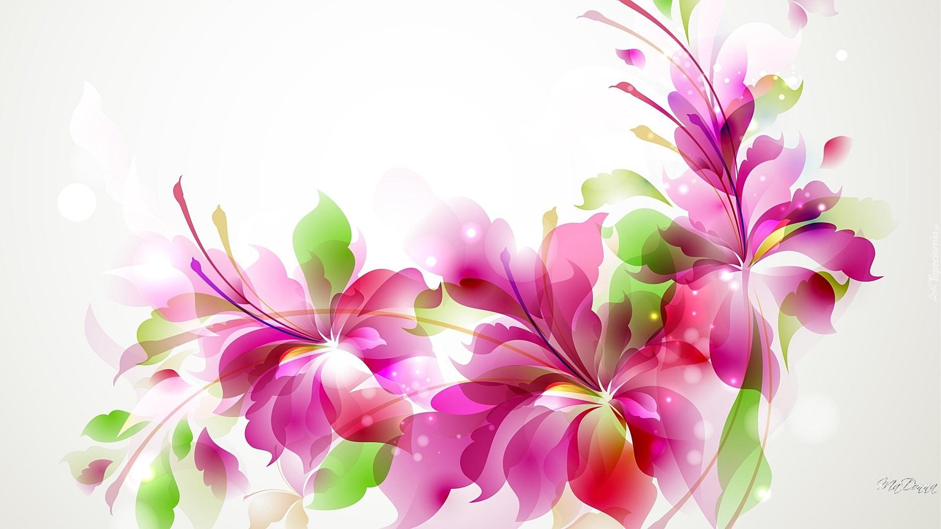 Kwiaty, Grafika