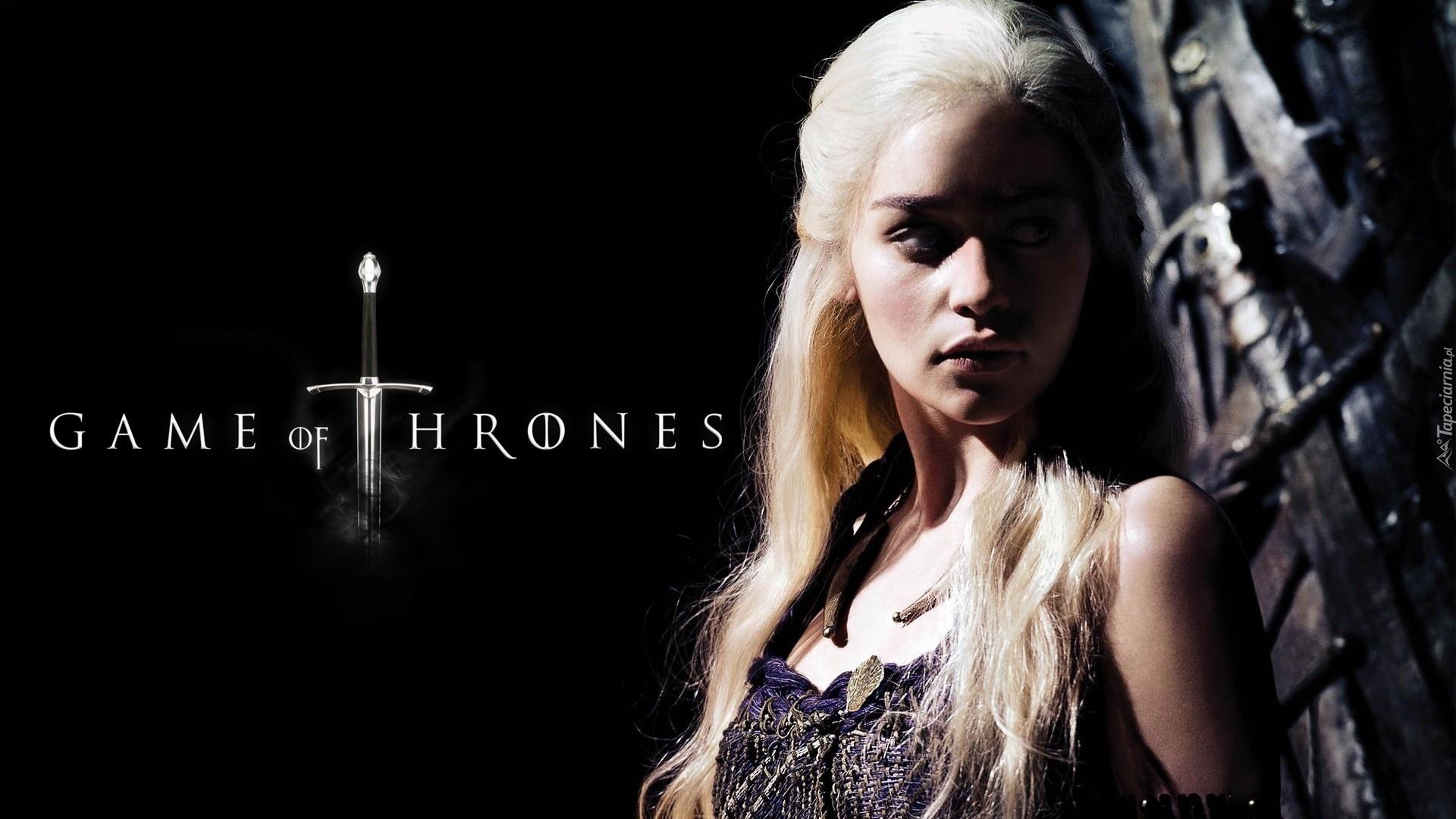 gra o tron, game of thrones, emilia clarke - daenerys targaryen