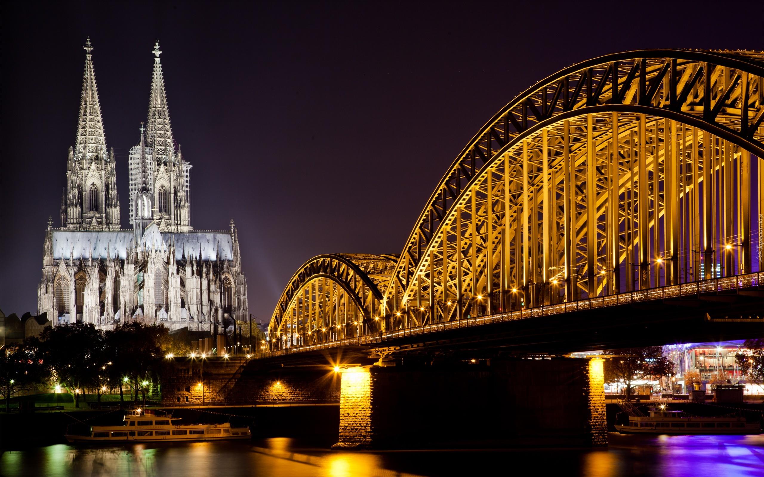 Most Katedra Rzeka Kolonia Niemcy