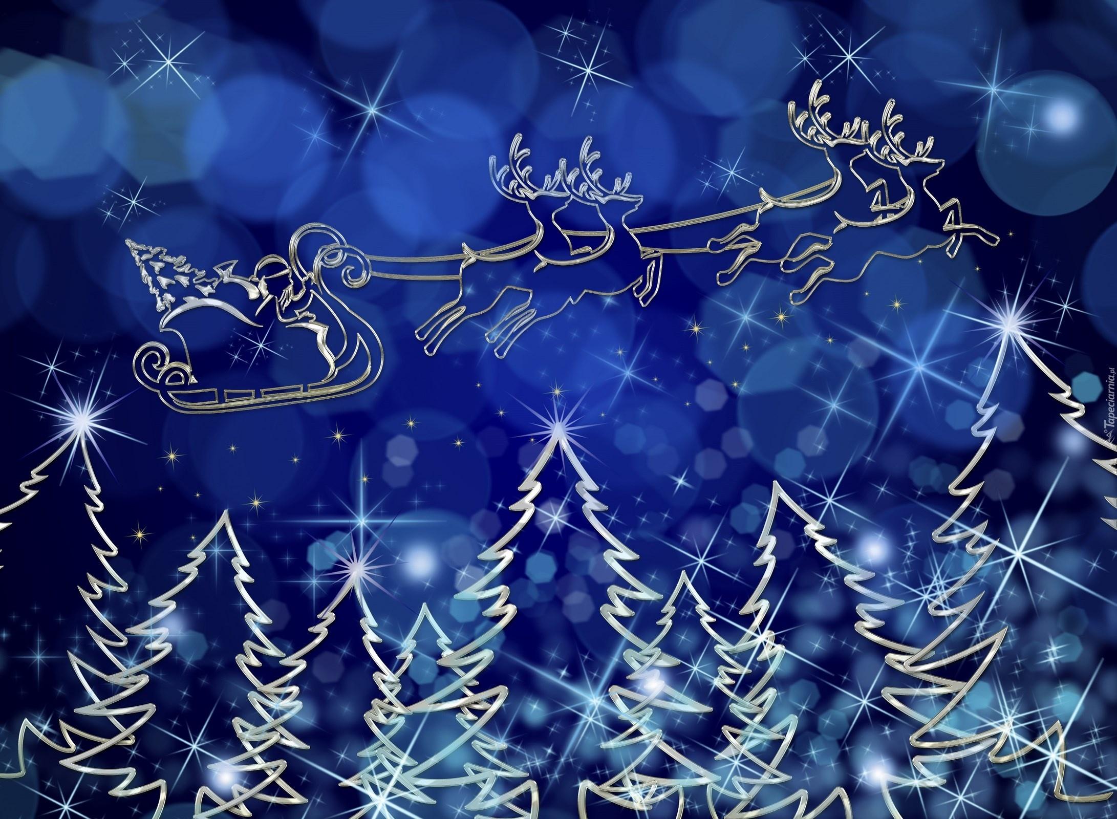 Новогодняя открытка фотошоп синяя, самолетики