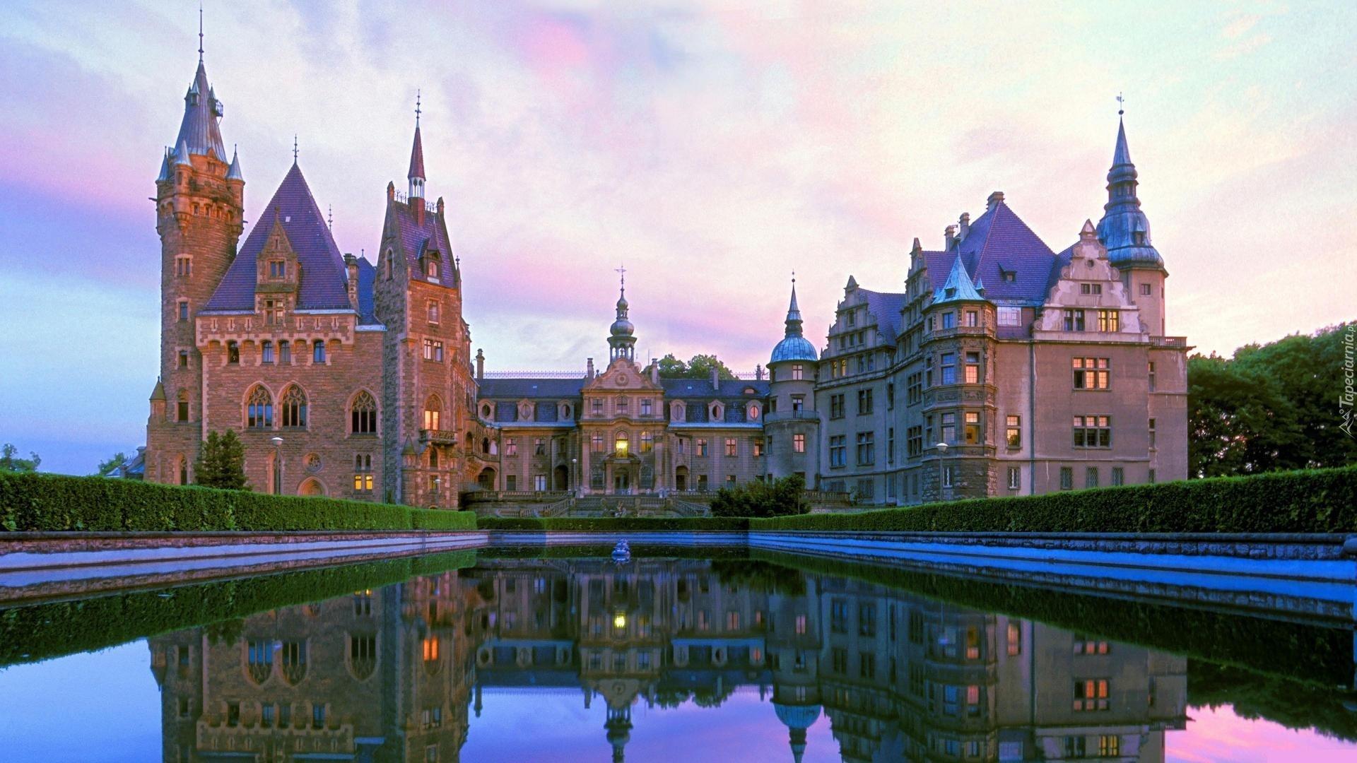 Zamek W Mosznej Pałac Moszna Polska