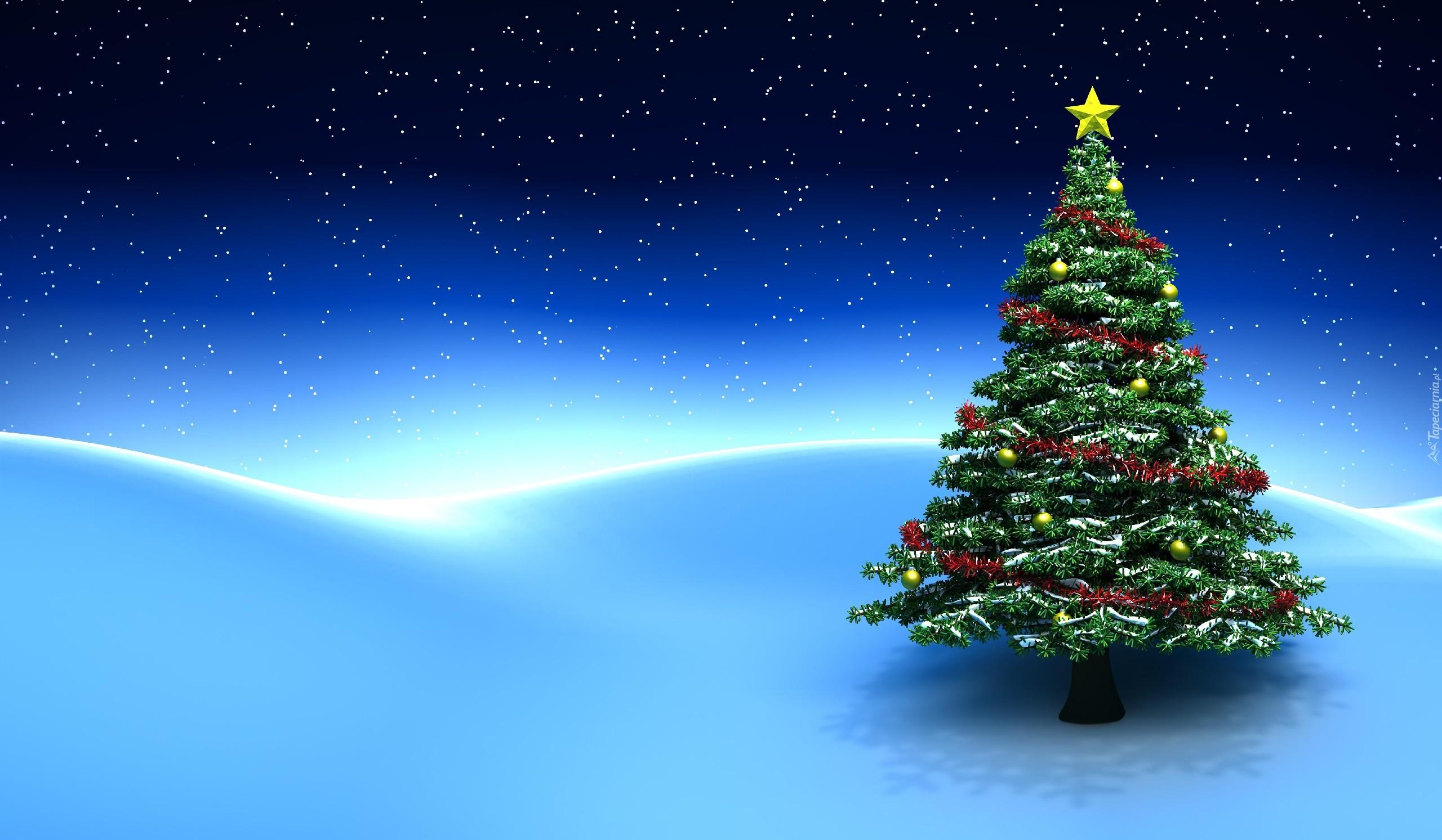 Fondos De Pantalla Bonitos De Navidad: Choinka, Śnieg, Boże, Narodzenie, Grafika