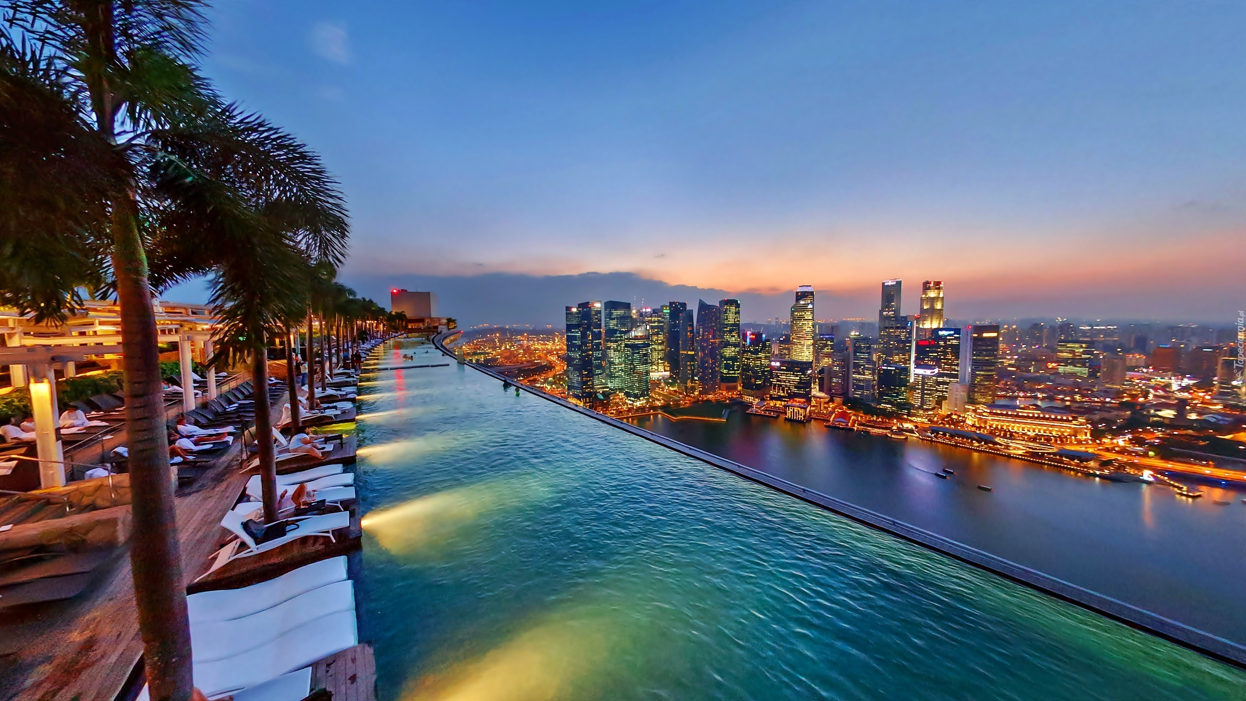 Infinity pool singapore wallpaper Phone Singapore Basen Na Dachu Marina Bay Stands Hotel Panorama Air Freshener Marina Bay Sands Panorama Wallpaper Hd Wallpapers Share Coloring