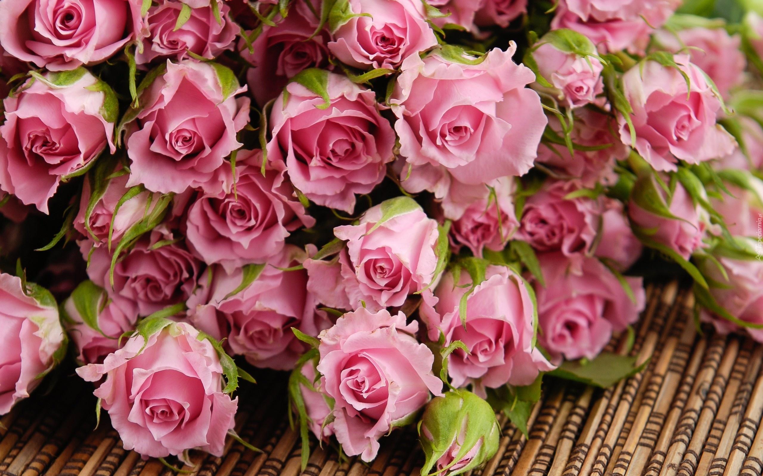 Обои для рабочего стола букет роз