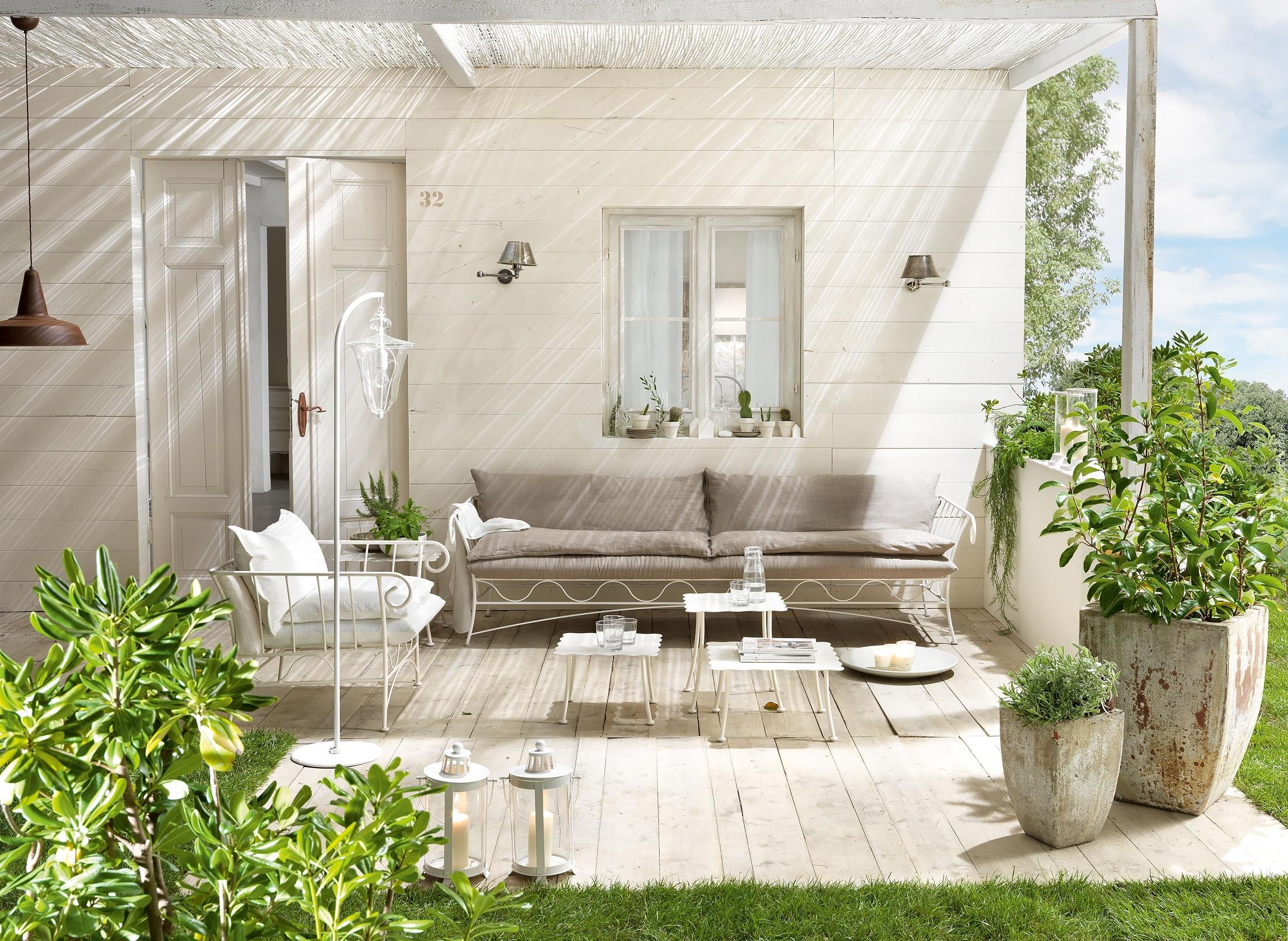 Dom weranda wypoczynek - Arredare giardino esterno ...