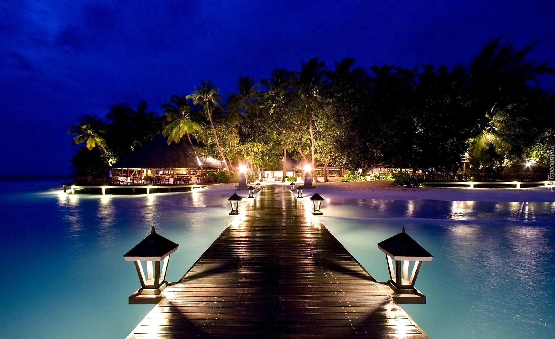 красивые картинки пляжа ночью индийская