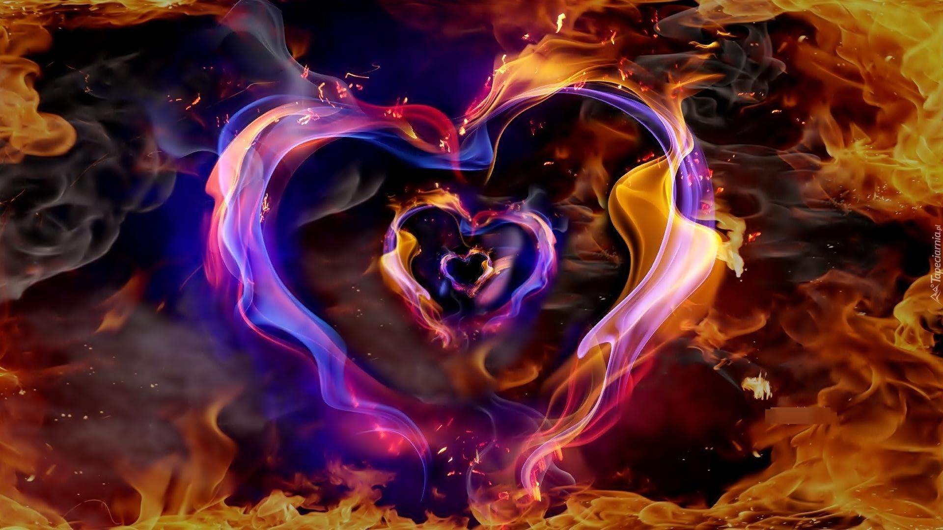 Огонь и вода картинки про любовь