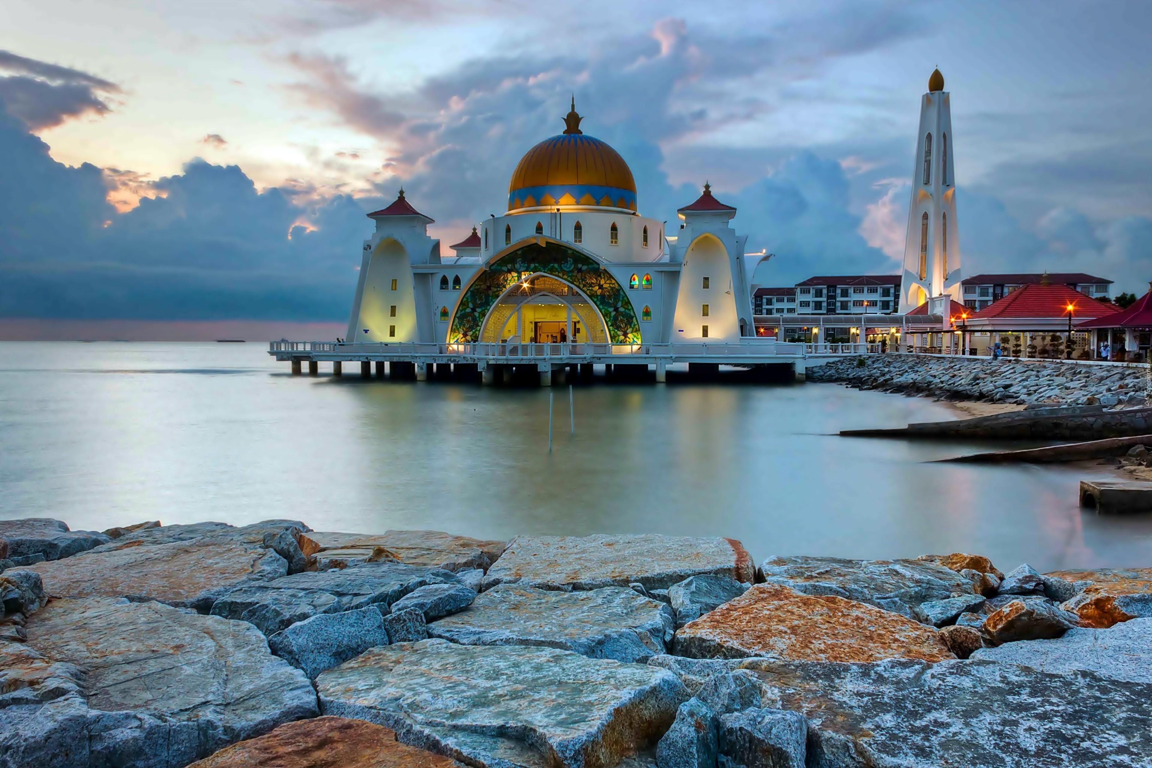 Morze Meczet Skały Malezja