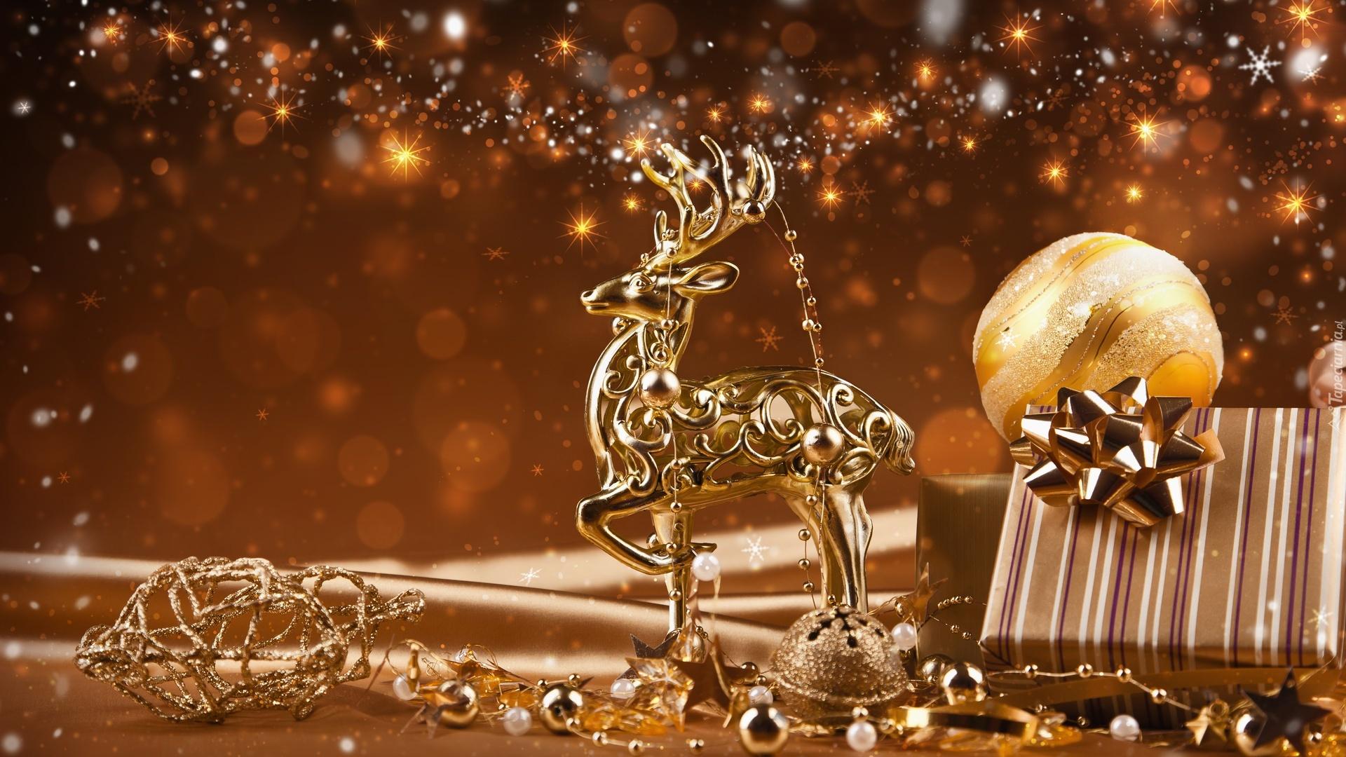 Dekoracja Świąteczna Jelonek