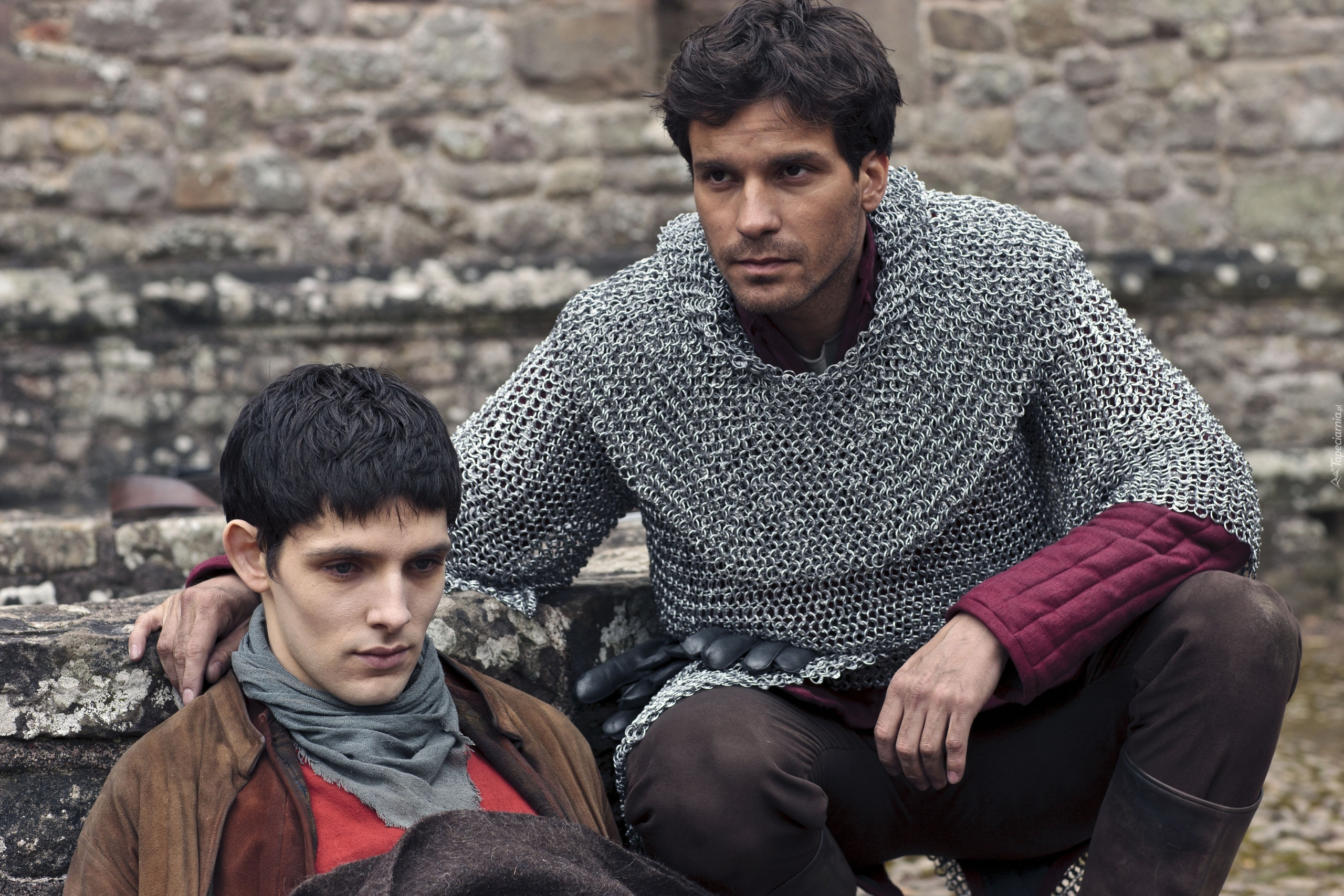 Serial, Przygody Merlina, The Adventures of Merlin, Colin Morgan, Santiago Cabrera